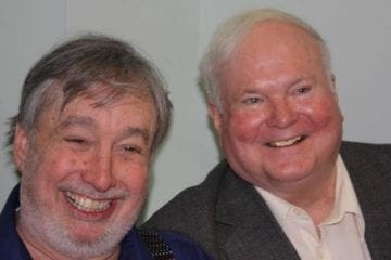 Bernie Shein with author Pat Conroy.