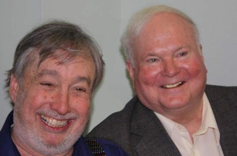 Bernie Shein with author Pat Conroy.