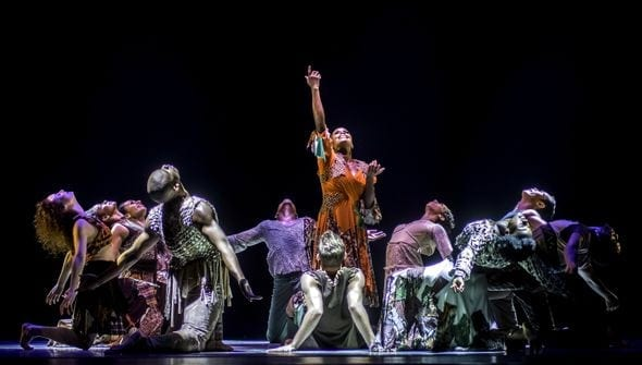 The Alvin Ailey American Dance Theater will be featured in the film series.
