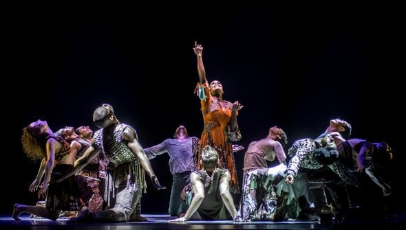 Hope Boykin stars in Alvin Ailey's world premiere ODETTA. (Photos courtesy Alvin Ailey)