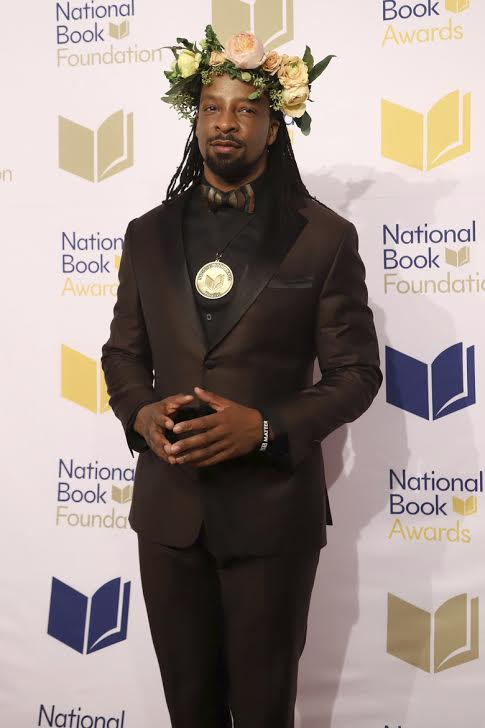 Jericho Brown at the National Book Awards