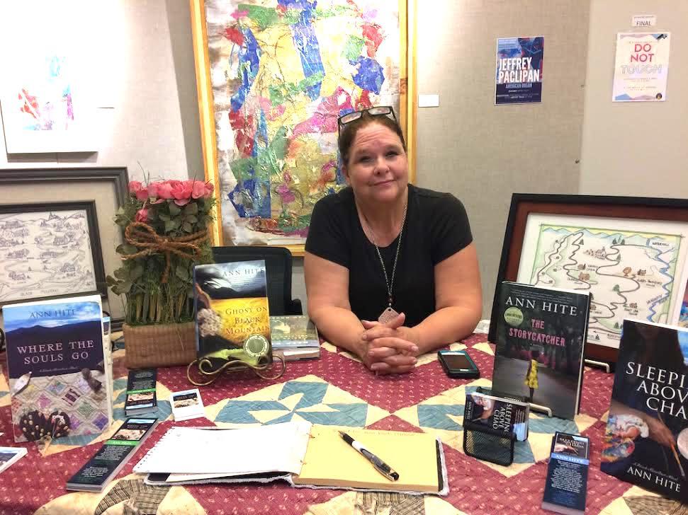 Atlanta author Ann Hite