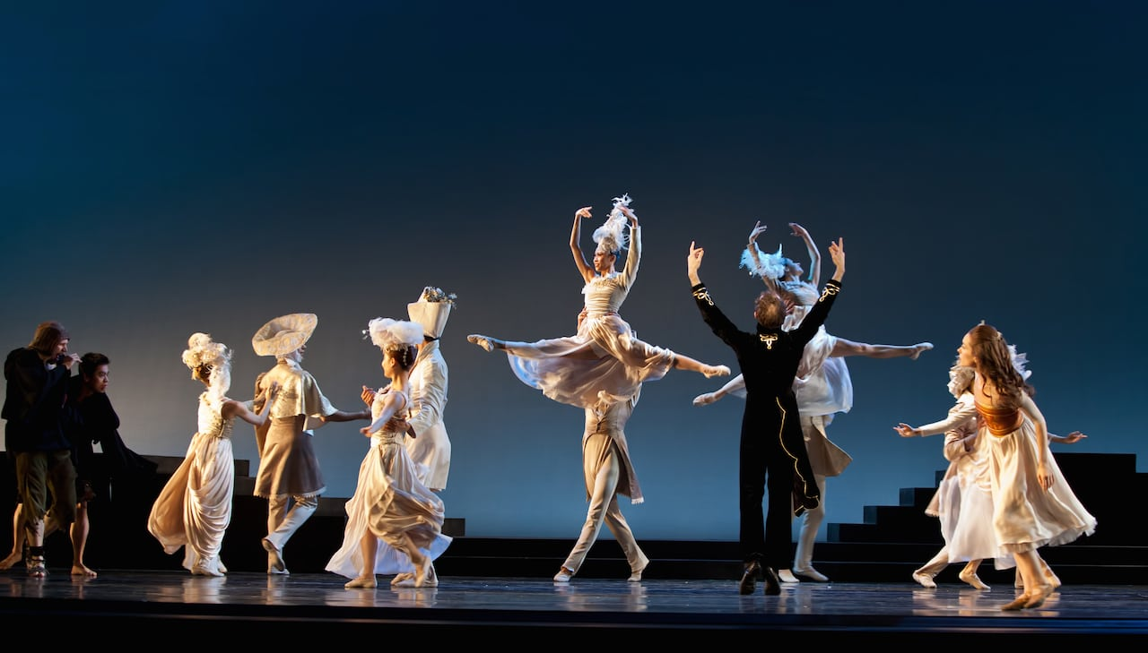 Twyla Tharp's The Princess and the Goblin will be restaged next season. (Photos by Charlie McCullers)