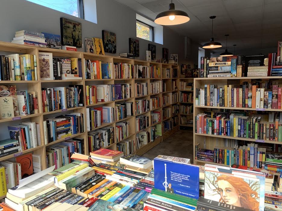 Inside the Bookish book shop in East Atlanta