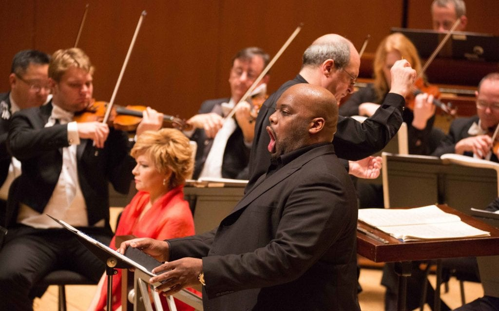 Morris Robinson, the ASO's artist-in-residence.