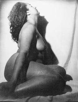 "Carla Williams: "" Venus (Self –Portrait),"" 1994. Archival Inkjet print, 40 x 32 inches, Courtesy the photographer."