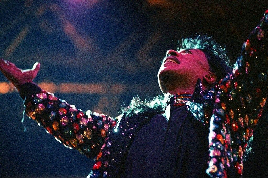 Little Richard on stage