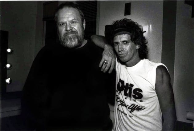 Alex Cooley rubbed shoulders with many musical icons, including Keith Richards. (Photo courtesy AlexCooley.com)