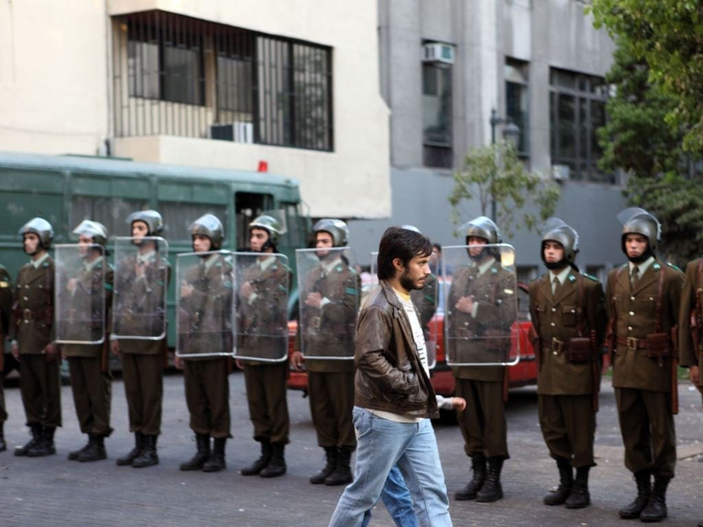"Gael García Bernal in Pinochet-era Chile in ""No."""