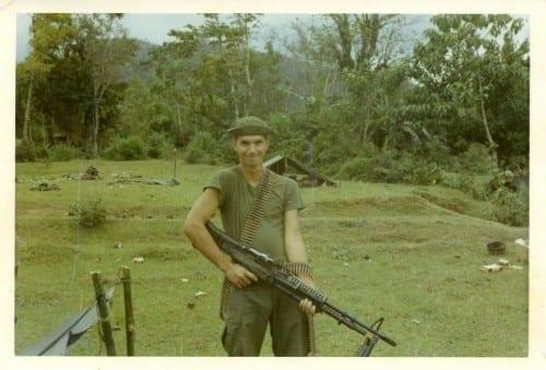 Delmer Presley in Vietnam.