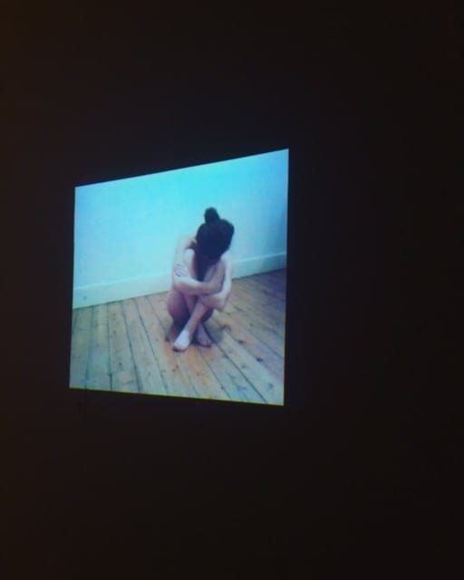 "Arianna Ferarri. ""WILL TO POWER AS DISAPPEARANCE,"" (2016). Sleep Deprivation-Sedatives- Body. Image courtesy Eyedrum Gallery."
