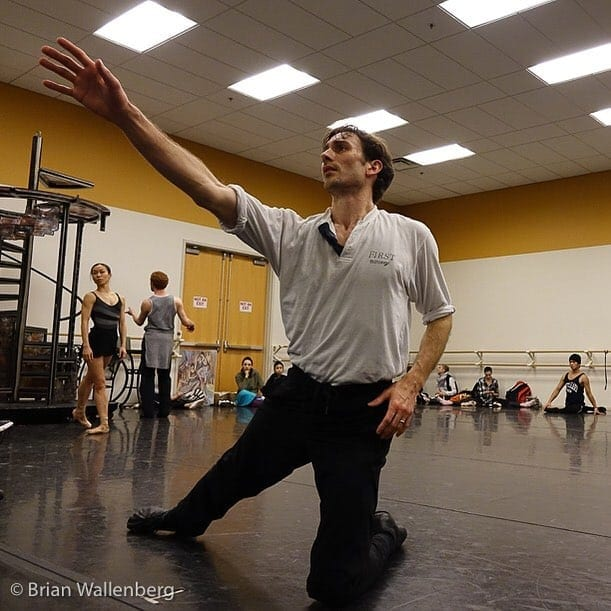 Clark has toured with the Royal Winnipeg Ballet's version of Moulin Rouge. (Photo by Brian Wallenberg)