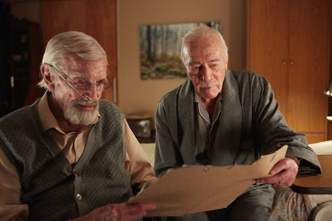 Martin Landau (left) and Christopher Plummer seek vengeance and justice in Remember.