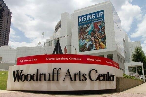 The Woodruff Arts Center.