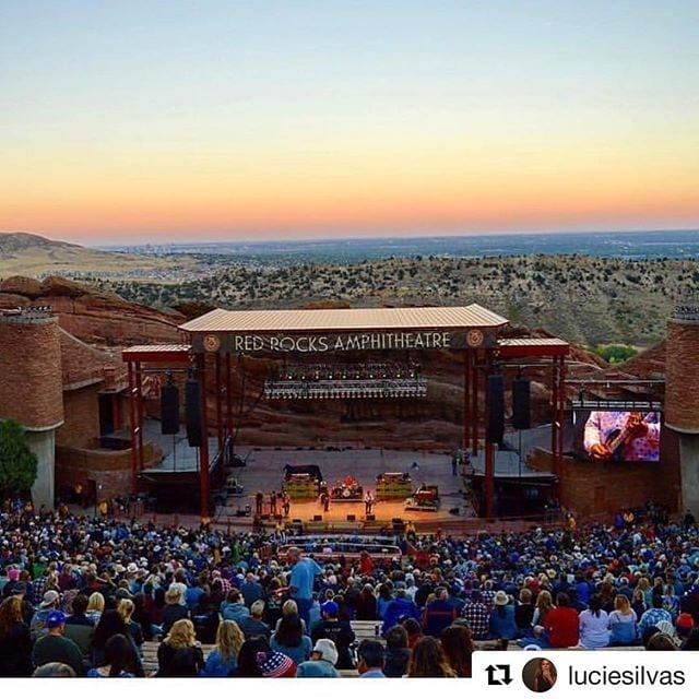 The Laid Back Festival at Red Rocks in September.