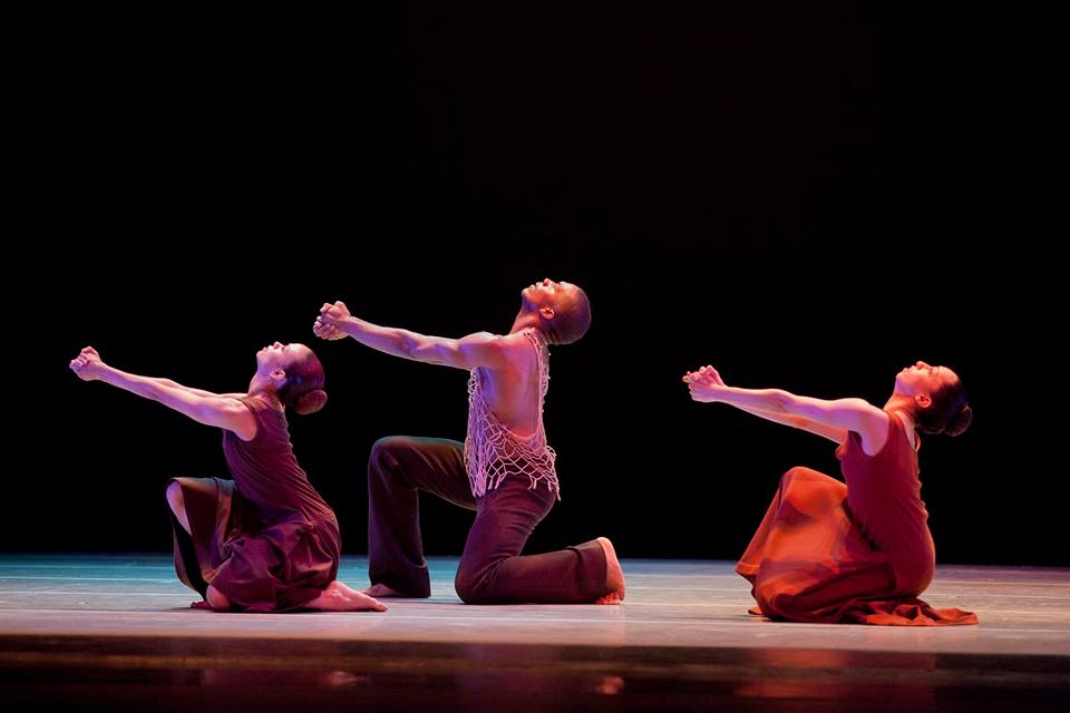 Ailey's masterwork, Revelations, closed each performance. (Photo by Gert Krautbauer/Courtesy Alvin Ailey Dance Theater)