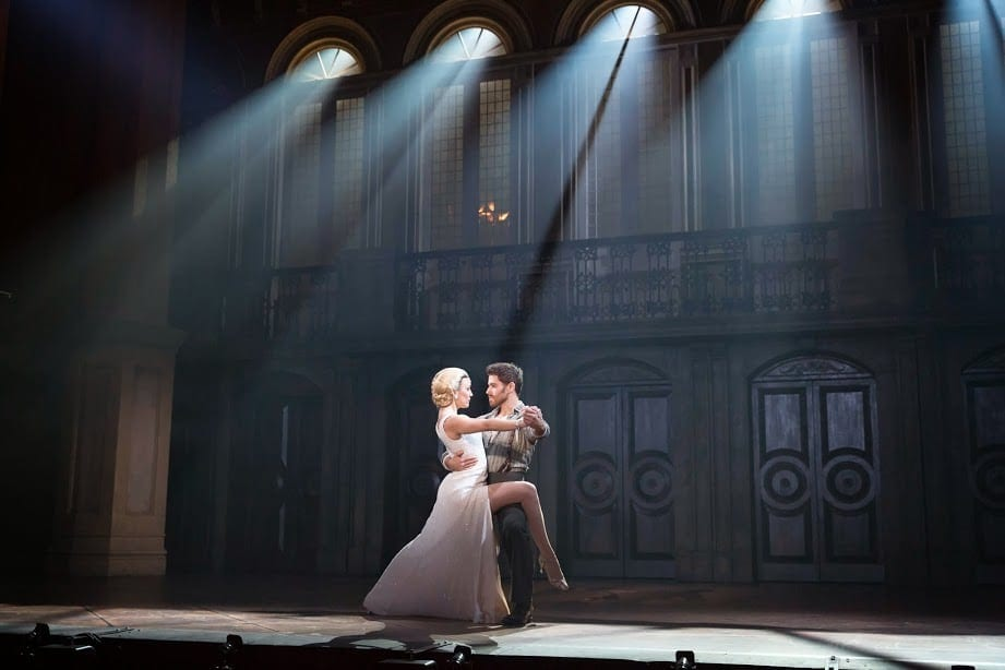 "Josh Young and Carolyn Bowman in ""Evita."" (Photo courtesy Broadway Across America)"