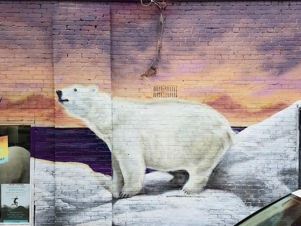 Jarrett Becke street art July 16 2020