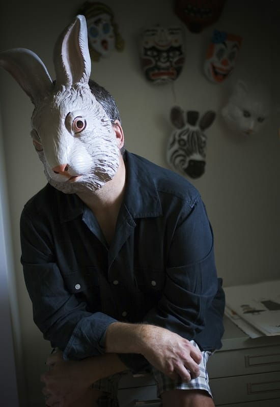 Benjamin Jones masked.