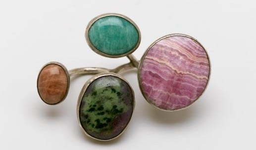 "Art Smith: ""Cluster Knuckles"" Ring, c.1968.  Brooklyn Museum."