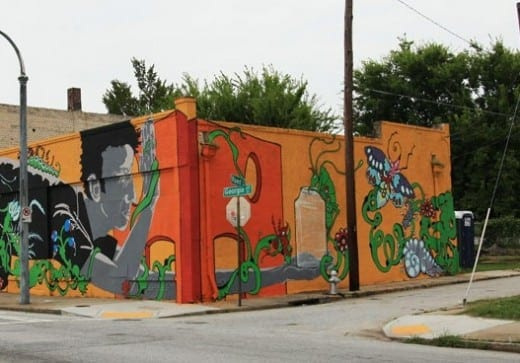 Mural by Matt Haffner, Laura Bell and jaimerojo