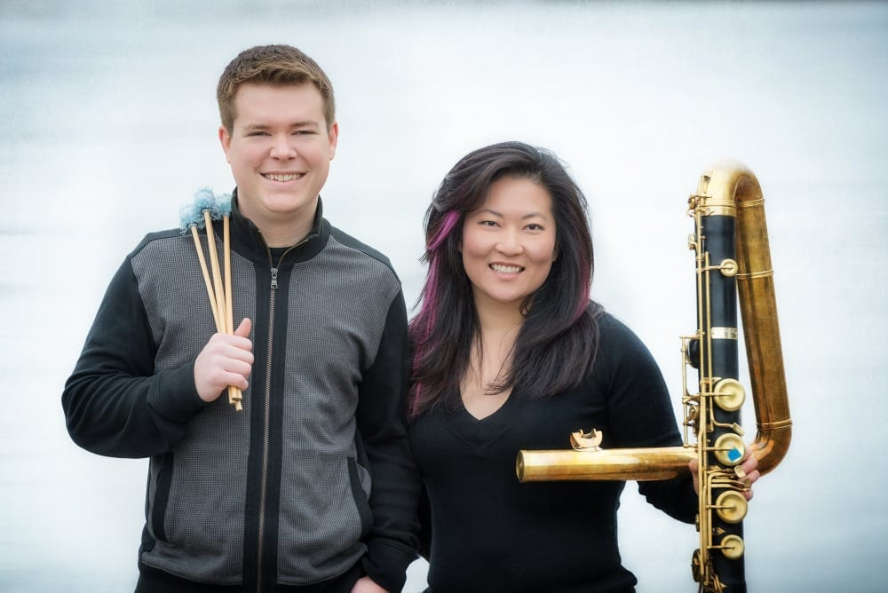 The A/B Duo played music composed specifically for them. (Photo by Human Artist Photography)
