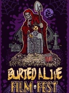 2019 Buried Alive Film Fest poster