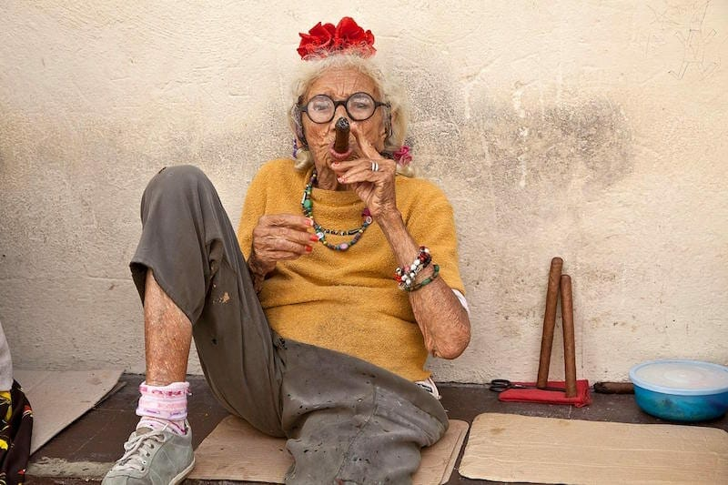 "Lucinda Bunnen's ""Cigar Lady"""