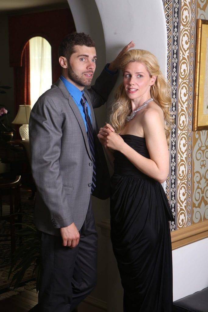 Justin Walker and Rachel Garner.