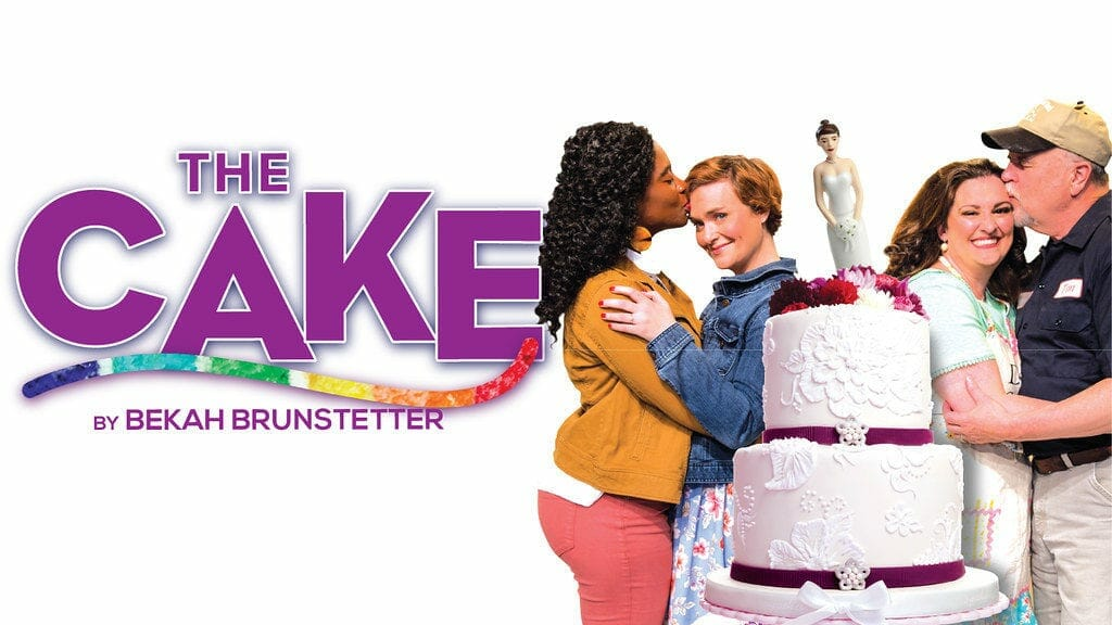 The cast of The Cake at Horizon Theatre