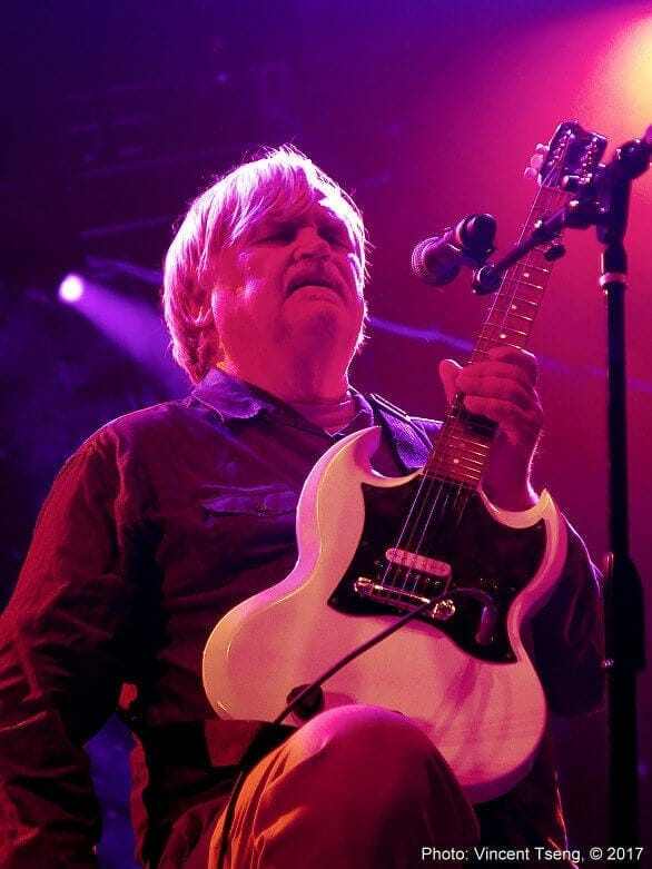 Colonel Bruce Hampton and his white SG