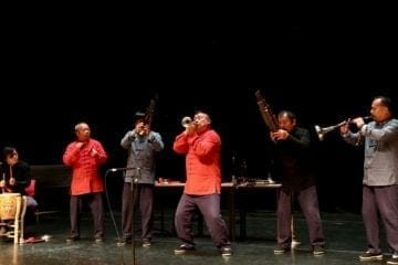 Zhou Family Band performed with Bent Frequency