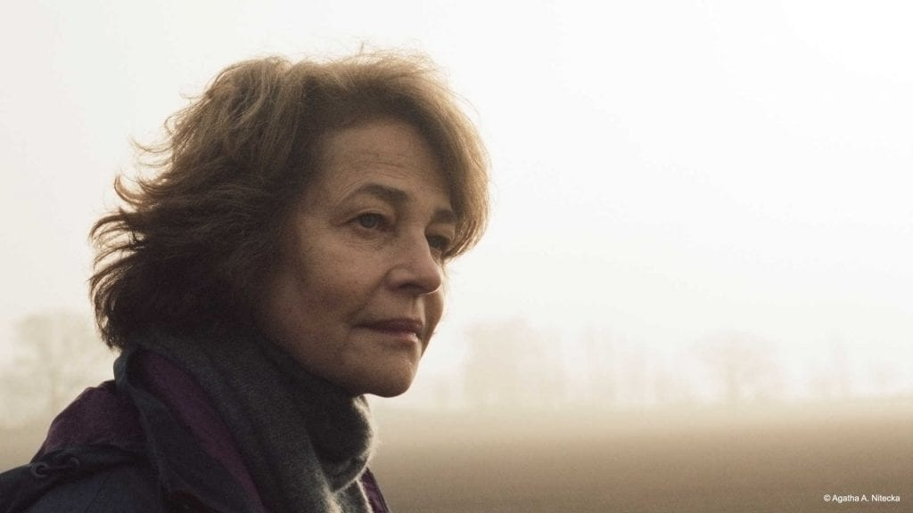 Rampling turns in an Oscar-nominated performance.