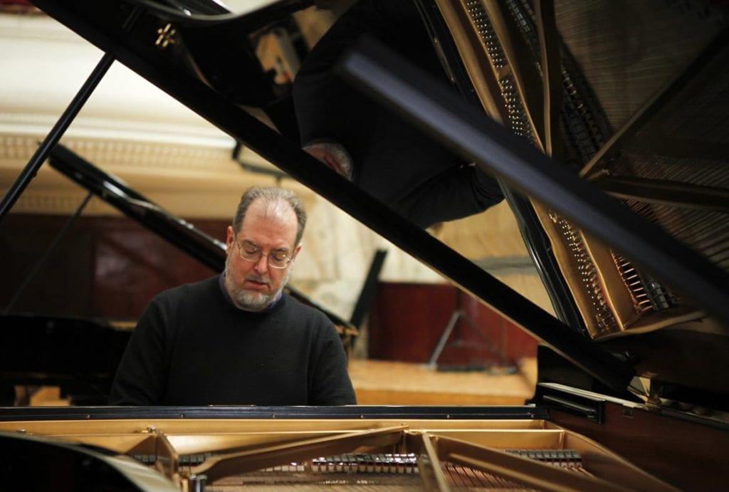 American pianist Garrick Ohlsson