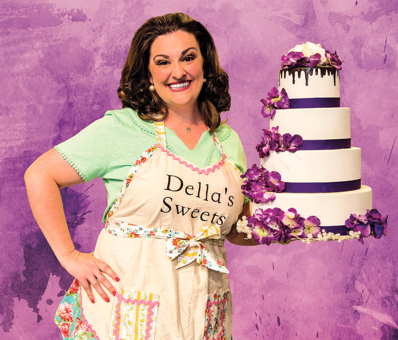 Marcy Mallard in The Cake at Horizon Theatre