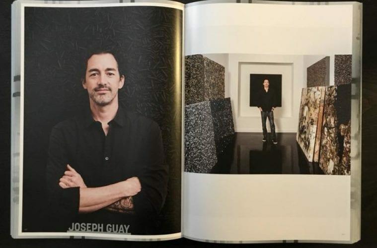Artist Joseph Guay