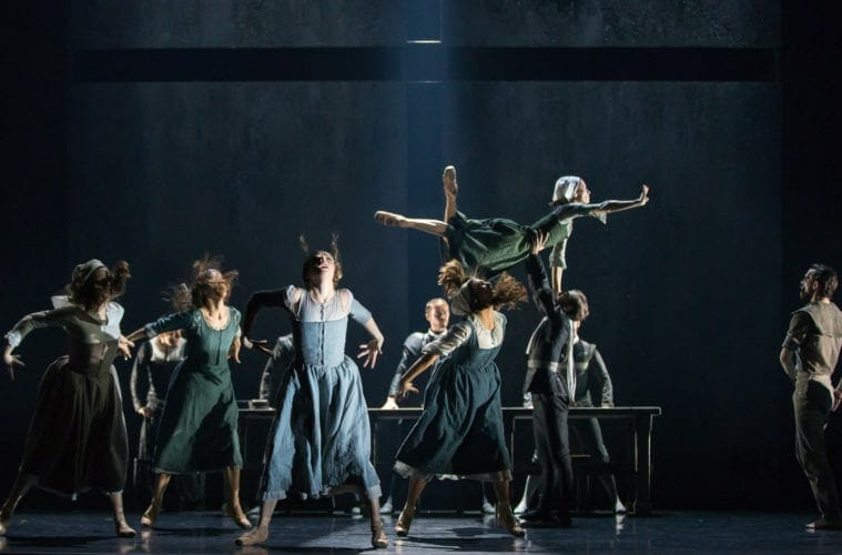 "The Scottish Ballet performs Helen Pickett's ""The Crucible."""