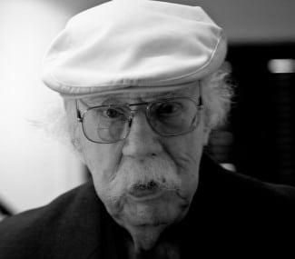 Oraein Catledge in his trademark white cap. (Photo by John Ramspott)