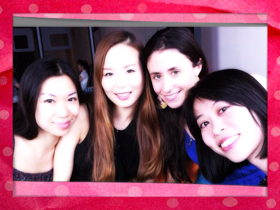 Friends: (from left to right): Tara Lee, Yoomi Kim, Nadia Mara and Chen. (Courtesy Facebook)