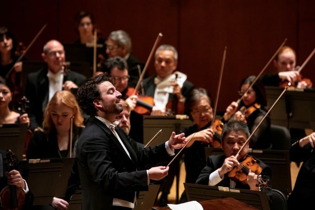 Atlanta Symphony Orchestra guest conductor James Gaffigan