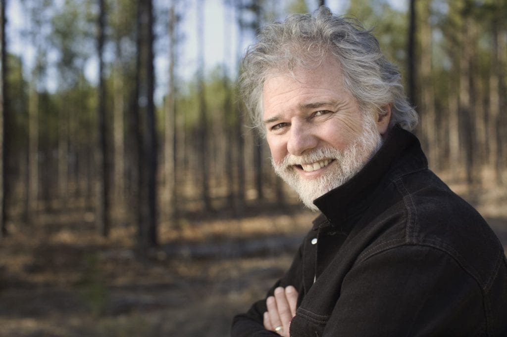 Chuck Leavell at his Charlane Plantation in Dry Branch.