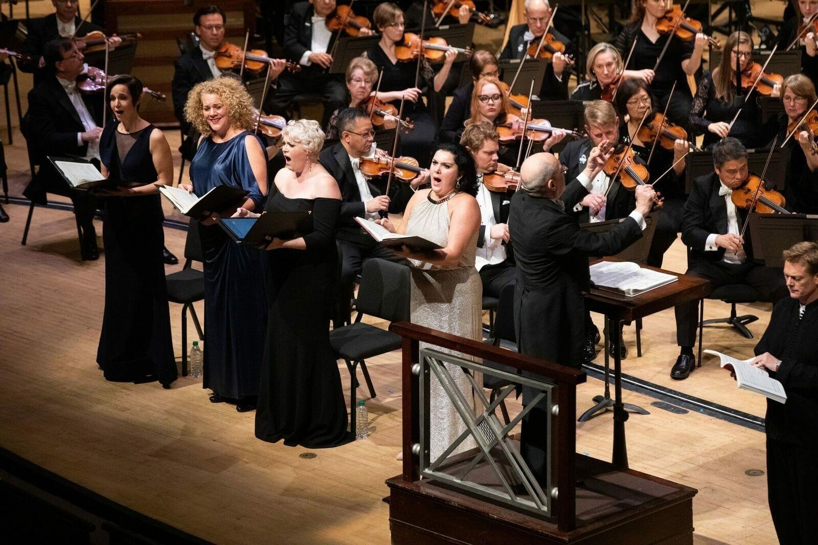 Robert Spano conducts Mahler's Eighth at Atlanta's Symphony Hall.