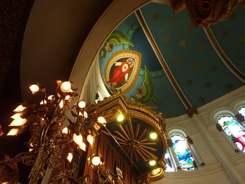 The Basilica of the Sacred Heart of Jesus, one of the churches on the Atlanta Preservation Centers many tours.