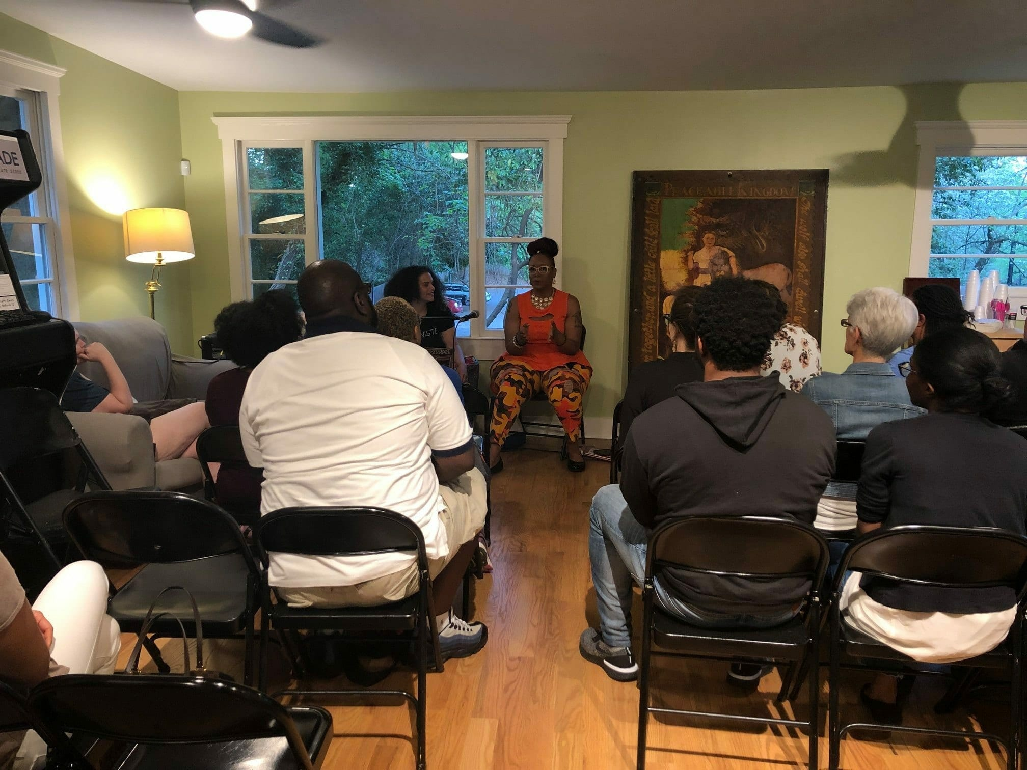 Charis Books host author talk with Feminista Jones.