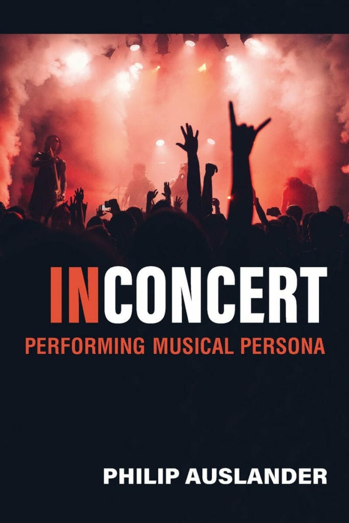 "Philip Auslander's ""In Concert"" cover"