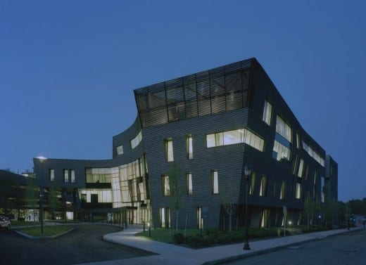 Yale University Health Center (Photo by Timothy Hursley)