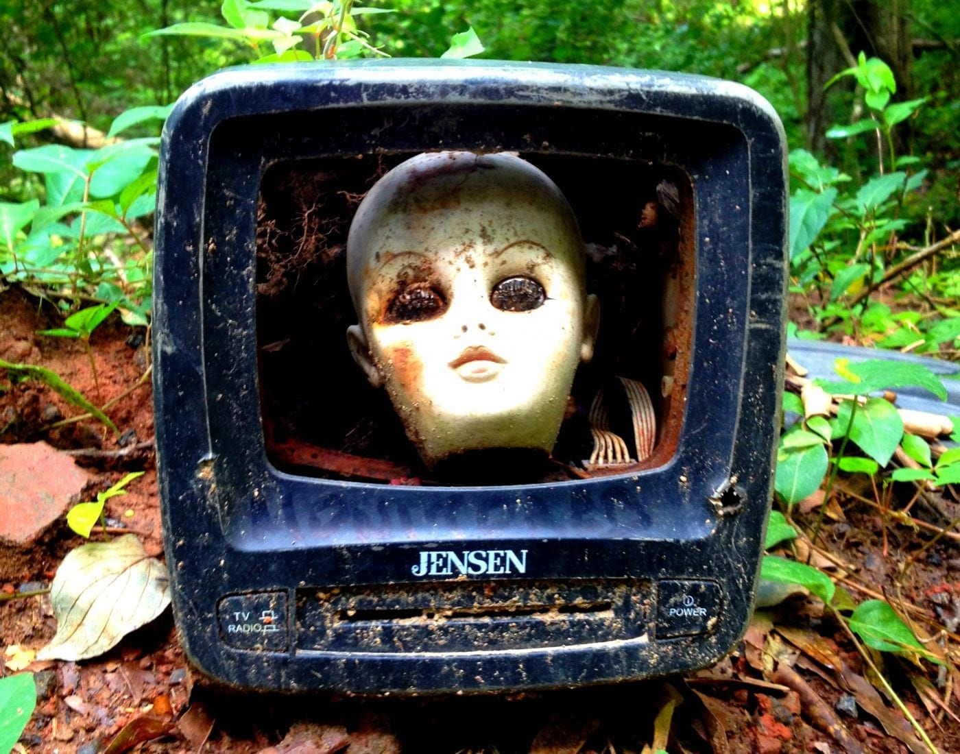 A-Doll-Head-in-a-Old-Television-Constitution-Lakes-Park-History-Atlanta-2014
