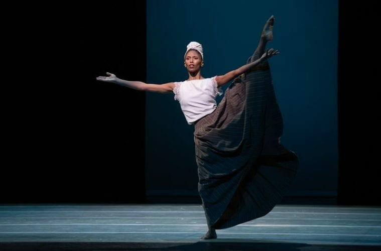 Alvin Ailey's Jacqueline Green dances.