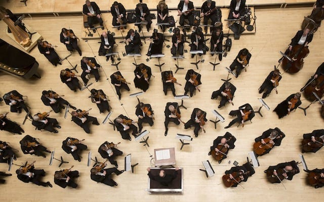 A primary goal is to return the orchestra to 88 members. (Photo by Jeff Roffman)
