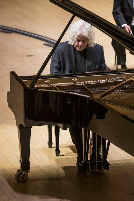 Pianist Ronald Brautigam performs Mozart